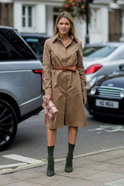 Модные платья-рубашки: Какие модели актуальны в этом году