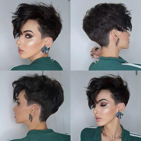 Пикси на ножке на тонкие волосы: секрет уникальности и особенности стрижки (+11 фото)