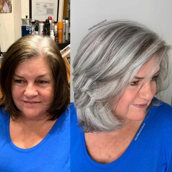 Тройной каскад для женщин 40-50 лет: особенности стрижки и 12 стильных идей