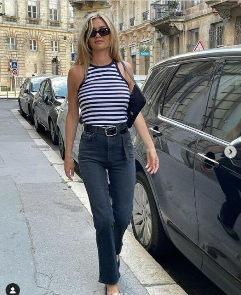 10 стильных идей как француженки носят тельняшку
