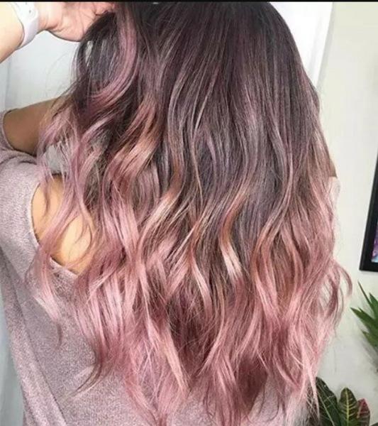 15 розово-каштановых оттенков волос, которые вдохновят на смену имиджа