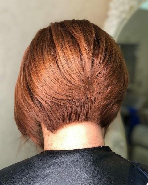 Боб-каре для женщин от 60: особенности и преимущества стрижки (+10 фото)