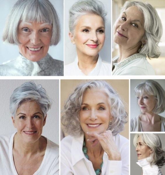 Фото женских причесок и стрижек, которые омолаживают и скрывают возраст   Стрижки для женщин 50, 60, 65, 70, 75 лет