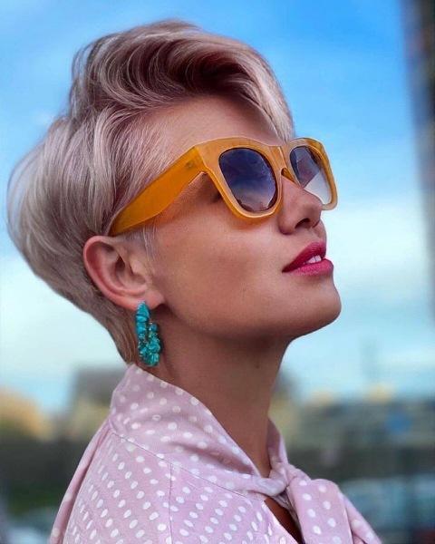 Модные короткие стрижки осени 2021: самые красивые новинки (+20 фото)