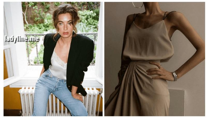 Шелковый топ — модный тренд, который сделает образ изящным и женственным