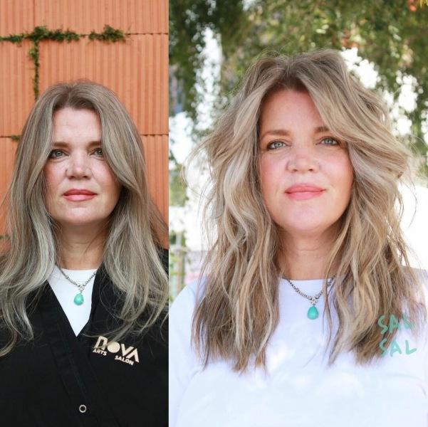 Светлые стрижки без челки для женщин 40-50 лет: 10 привлекательных идей