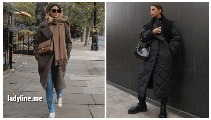 Тепло и стильно: 15 образов осень - зима