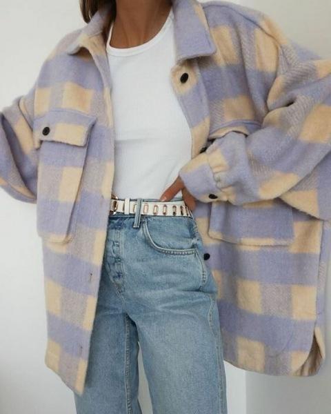Верхняя одежда в клетку: Стильное приобретение для осенних образов